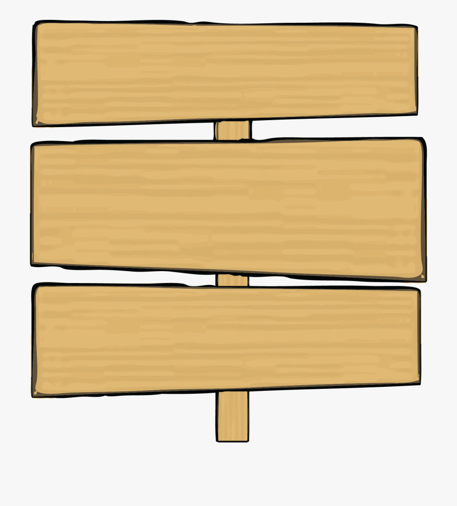 Sign Board Png Clipart Wood Sign Board Clip Art.