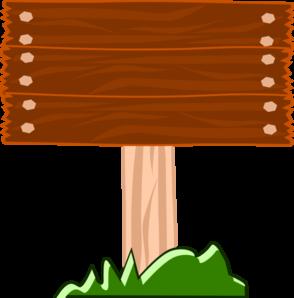 Wood Street Sign Clip Art at Clker.com.