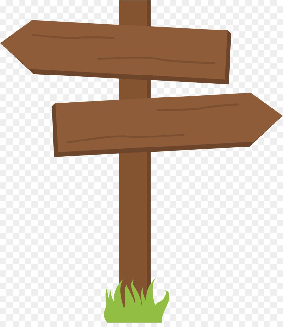 Wood Sign Arrow clipart.