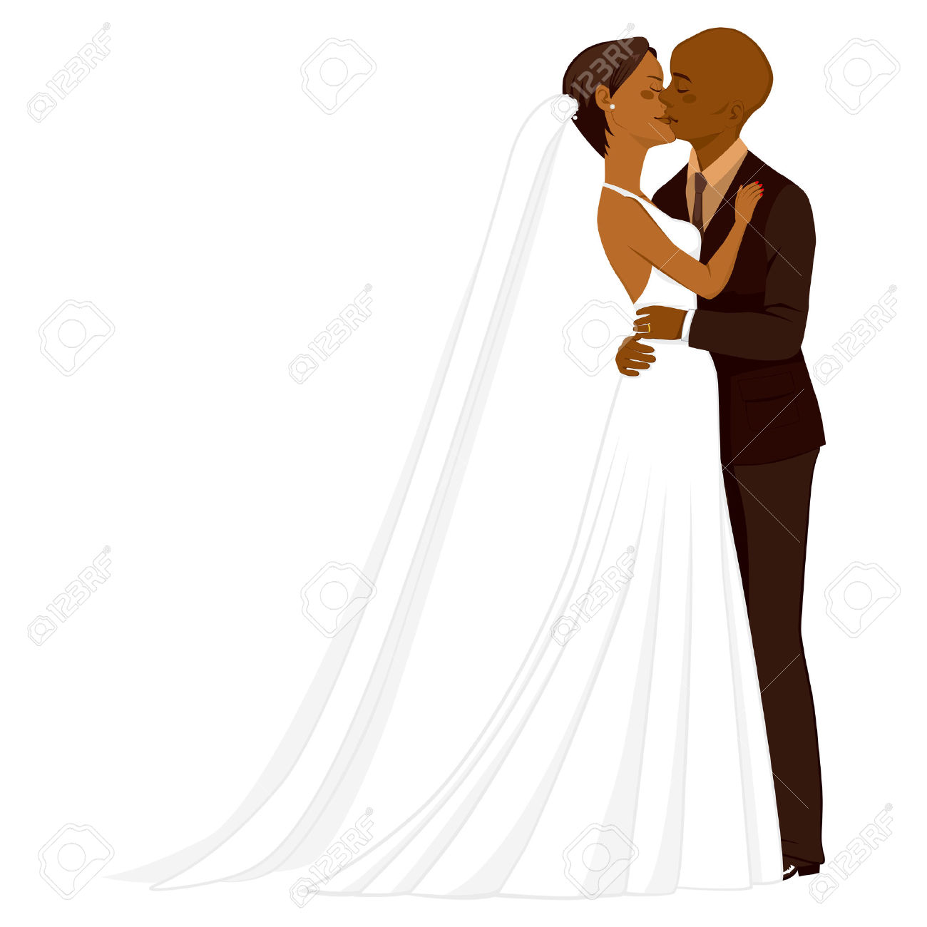 525 African American Couple Cliparts, Stock Vector And Royalty.