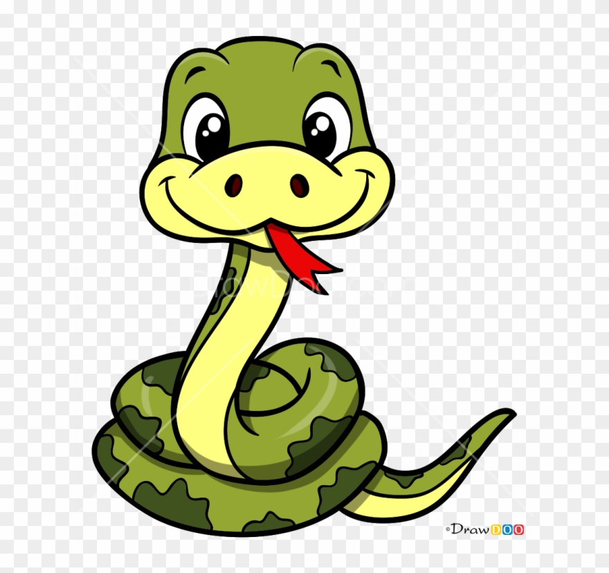 How To Draw Snake.