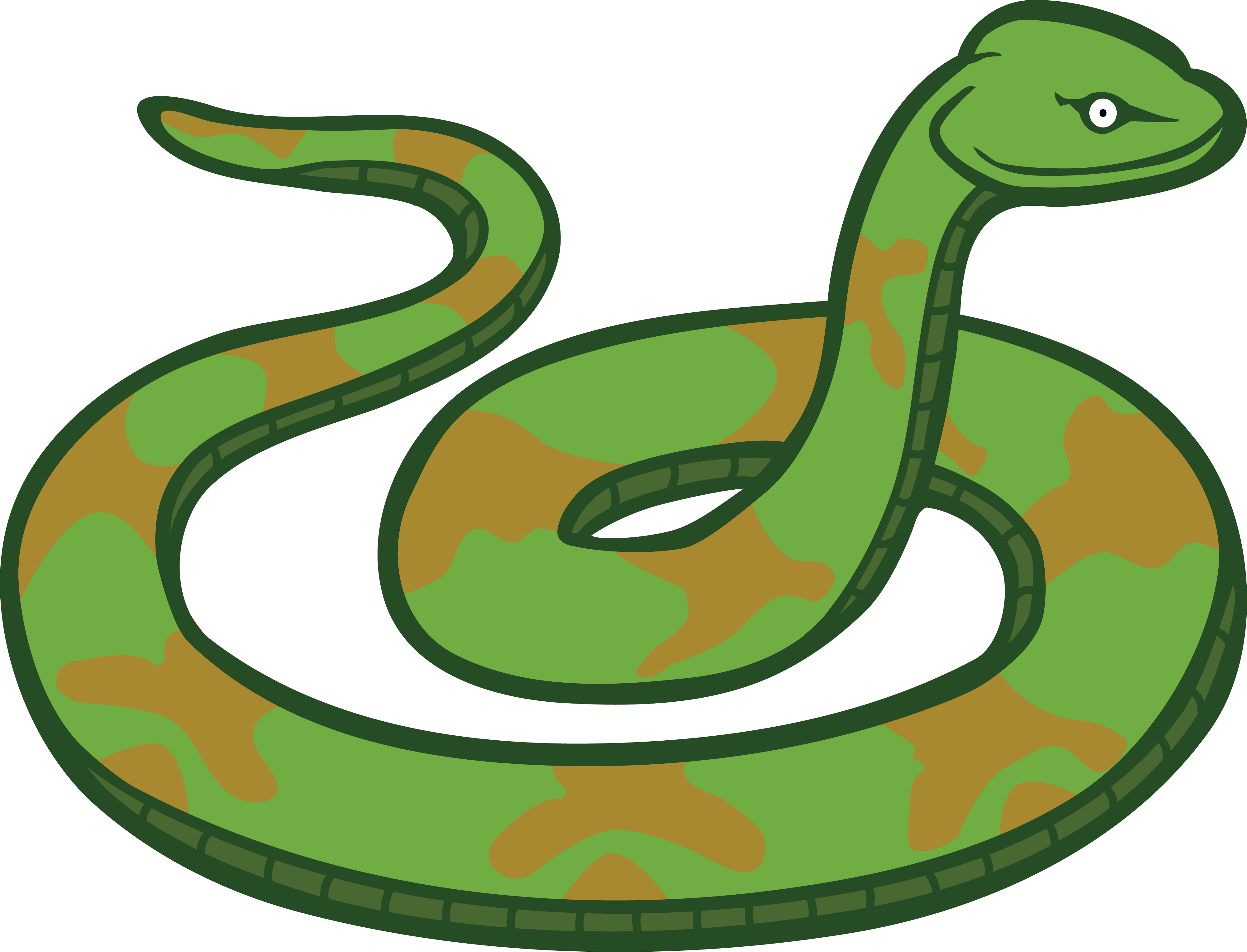 Free Clipart Snake.