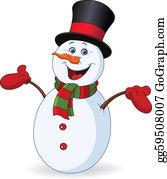 Snowman Clip Art.