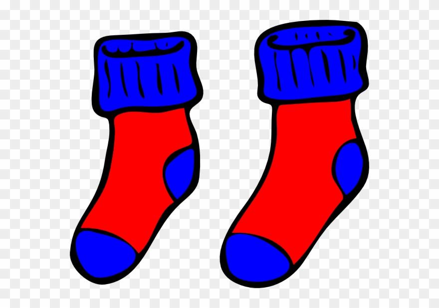 Sock Clip Boy Clipart.