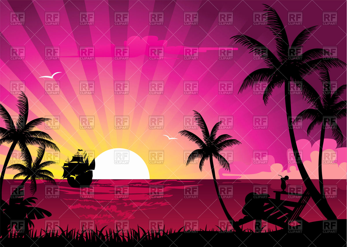 150 New Sunset Clip Art Inspiration.
