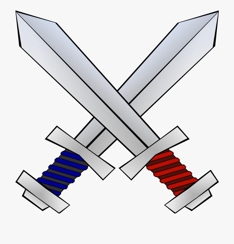 Minecraft Crossing Swords Png.