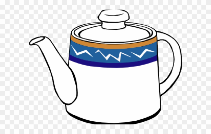 Steam Clipart Teapot.