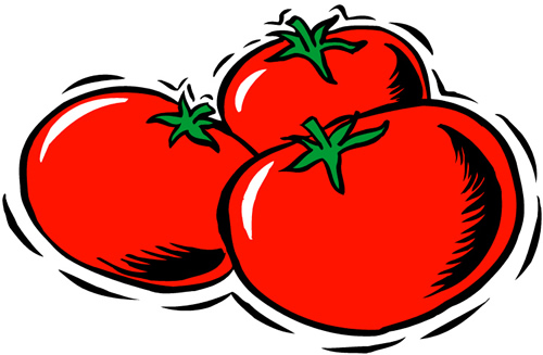 Clipart tomato 5 » Clipart Station.