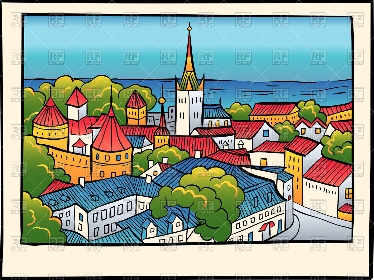 3318 Town free clipart.