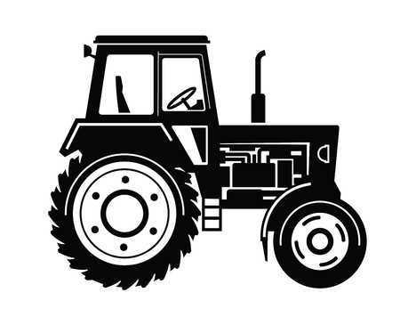 Clipart tractor 2 » Clipart Portal.