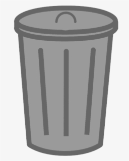 Free Trash Can Clip Art with No Background.