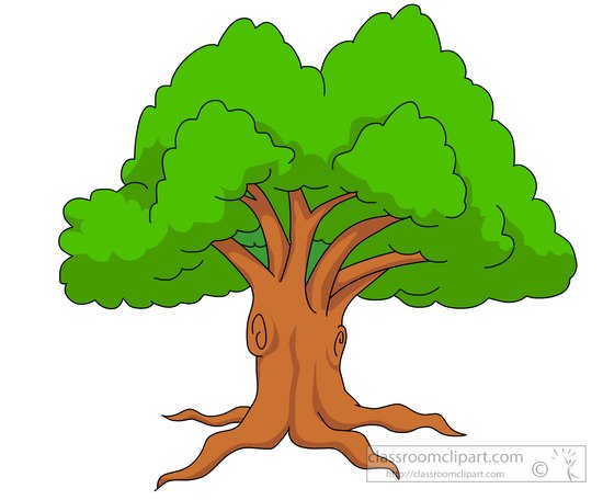 Large green tree clipart » Clipart Station.