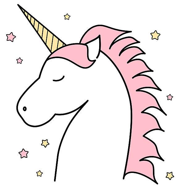 Unicorn head clipart clipartxtras.