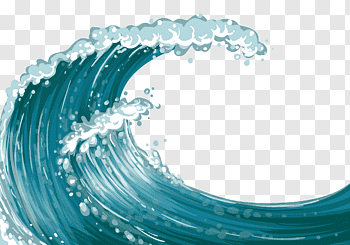 Wind wave cutout PNG & clipart images.