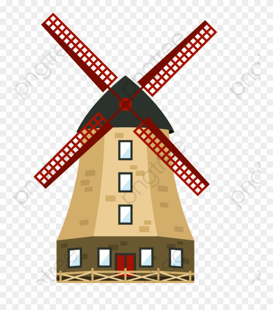 Cartoon Windmill.