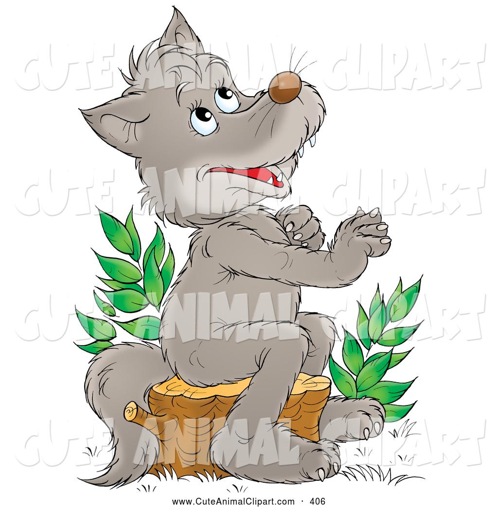 Royalty Free Timber Wolf Stock Animal Designs.