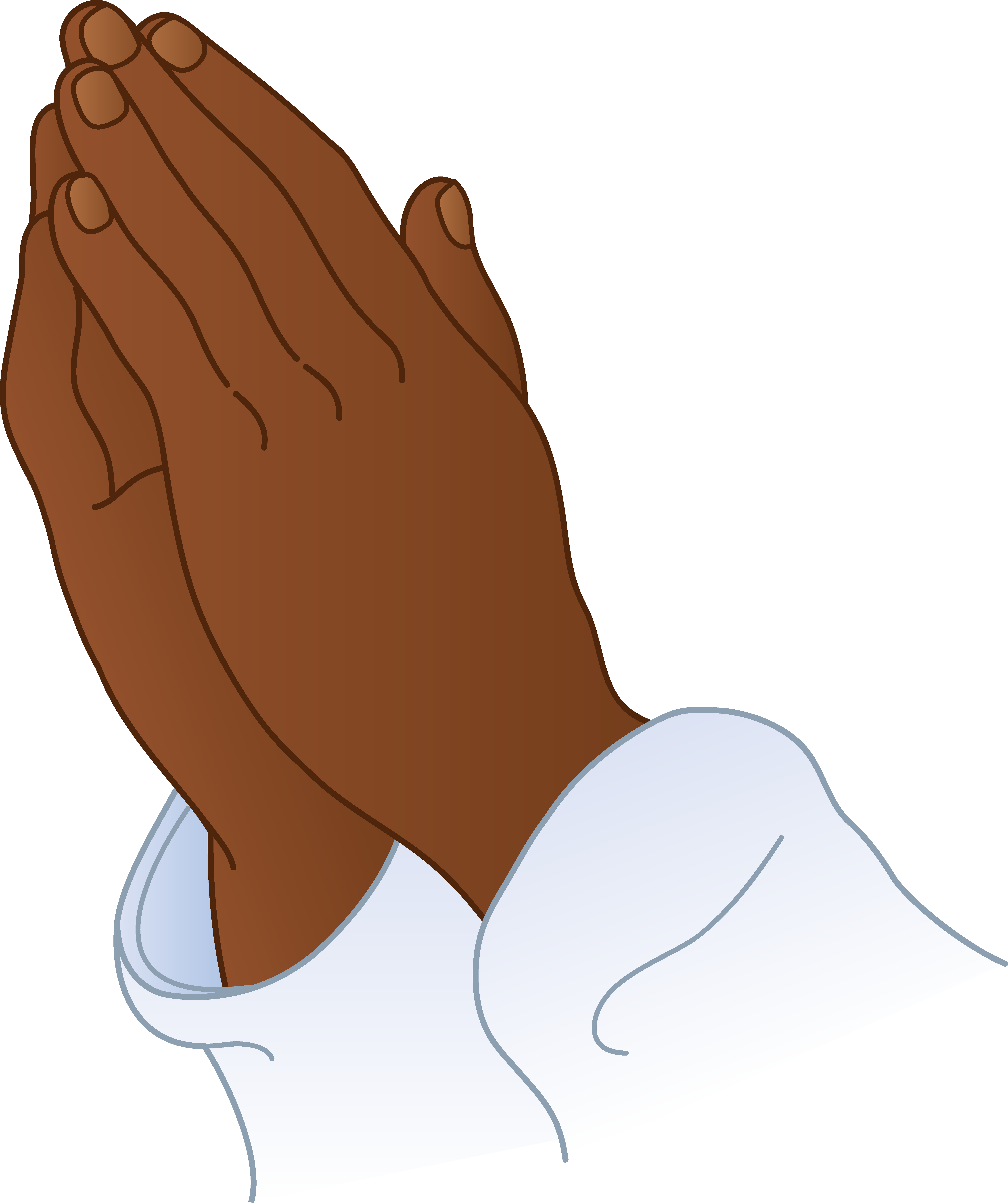 Man And Woman Praying Hands Clipart.