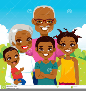 African American Family Clipart Images.