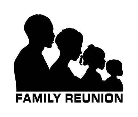 African american families silhouette clipart, Free Download Clipart.