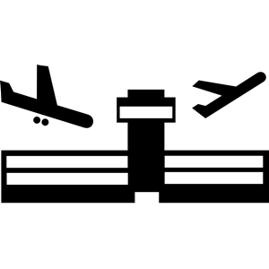 Airport clipart, cliparts of Airport free download (wmf, eps, emf.