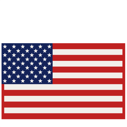 American Flag SVG scrapbook cut file cute clipart files for.