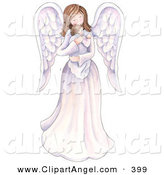 Royalty Free Children Stock Angel Designs.