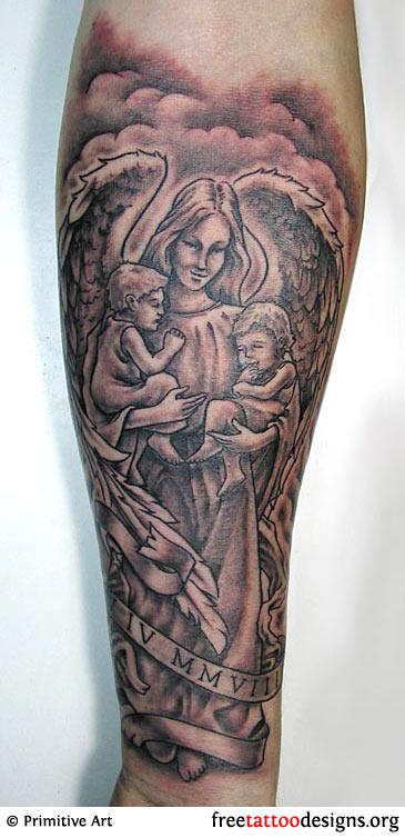 Angel Tattoos.