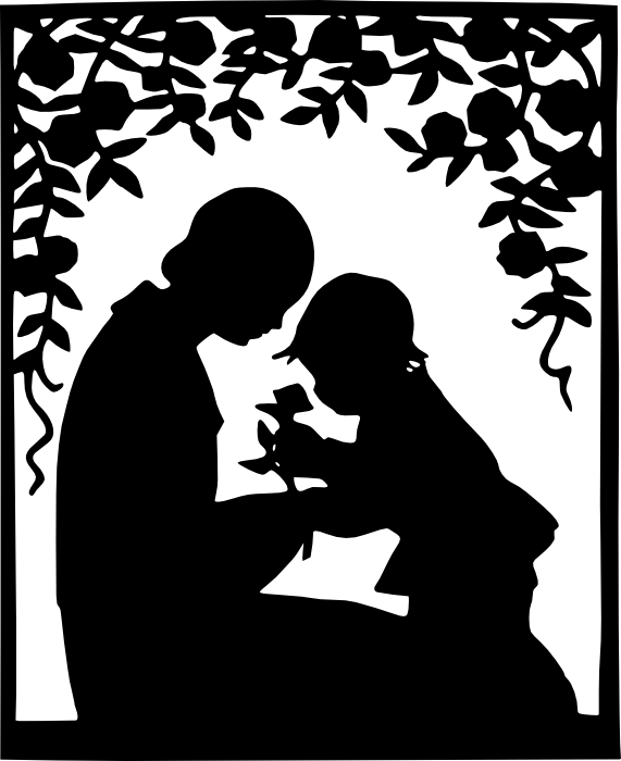 Free Clipart of Pregnant Women, New Mothers and Families.