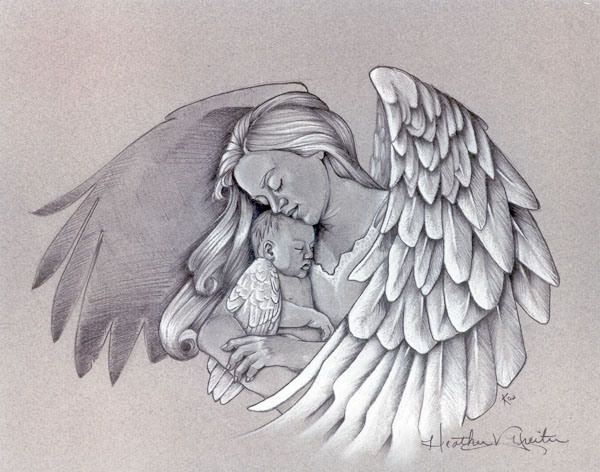 17 Best ideas about Baby Angel Tattoo on Pinterest.
