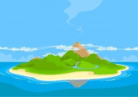 Clipart of island 7 » Clipart Portal.
