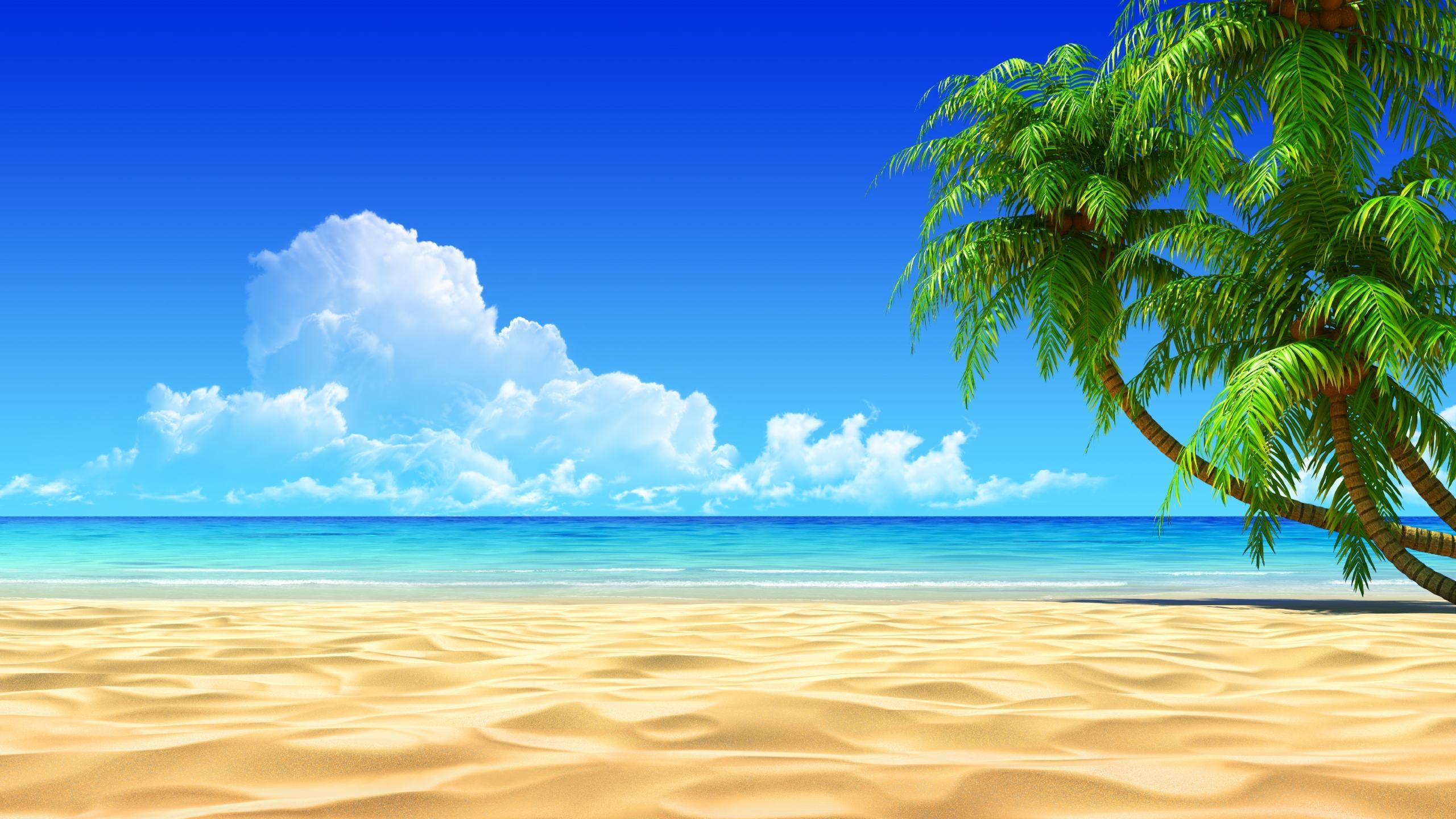 Beach island clipart 2.