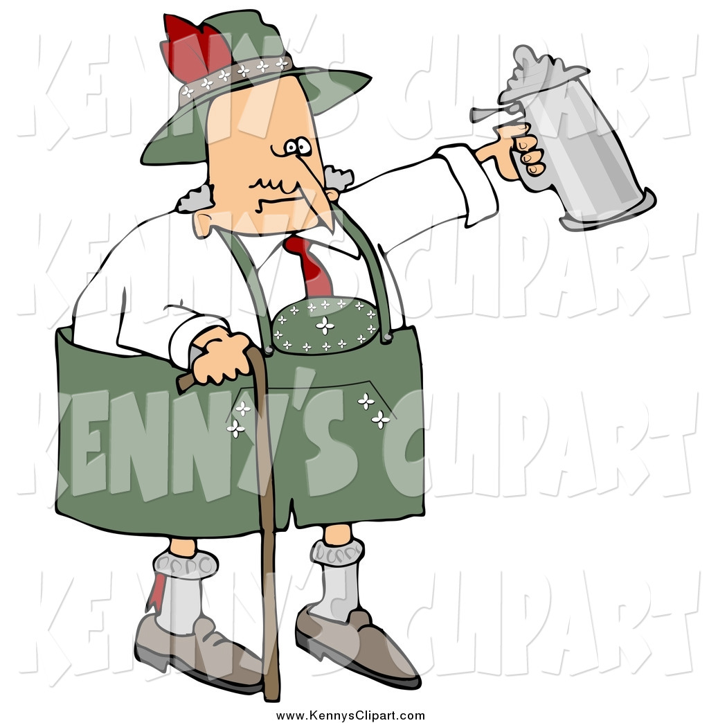 Clipart Of An Old Man Drunk.