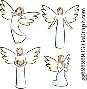 Angels Clip Art.