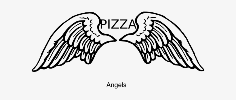 Pizza Angel Clip Art.