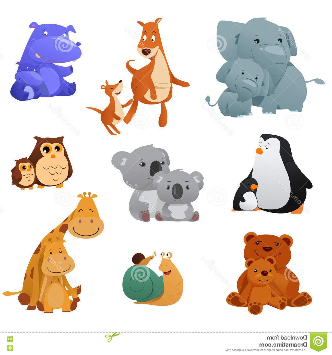 Clipart of animals and their young 1 » Clipart Portal.