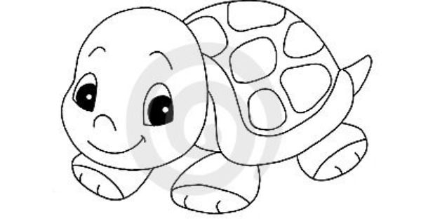 Cute Animal Clipart Black And White.