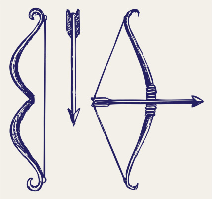 Bow And Arrow Vector Art 155240133.