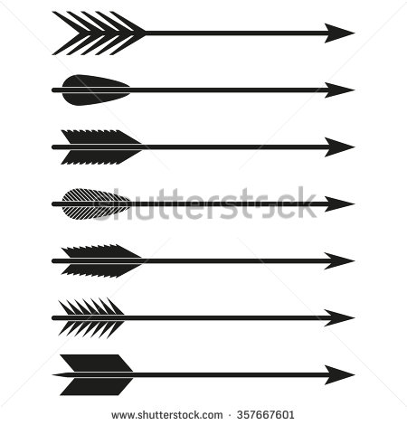 Archery Arrow Stock Images, Royalty.
