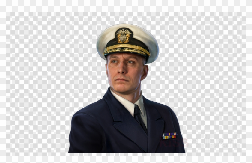 Navy Officer World Of Warships Clipart Army Officer.