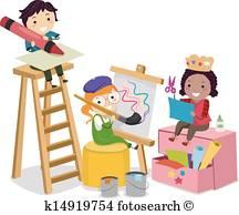 Arts Crafts Vectors.