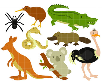Australian animals clipart » Clipart Station.