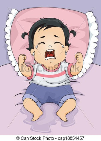 Baby Crying Clipart.