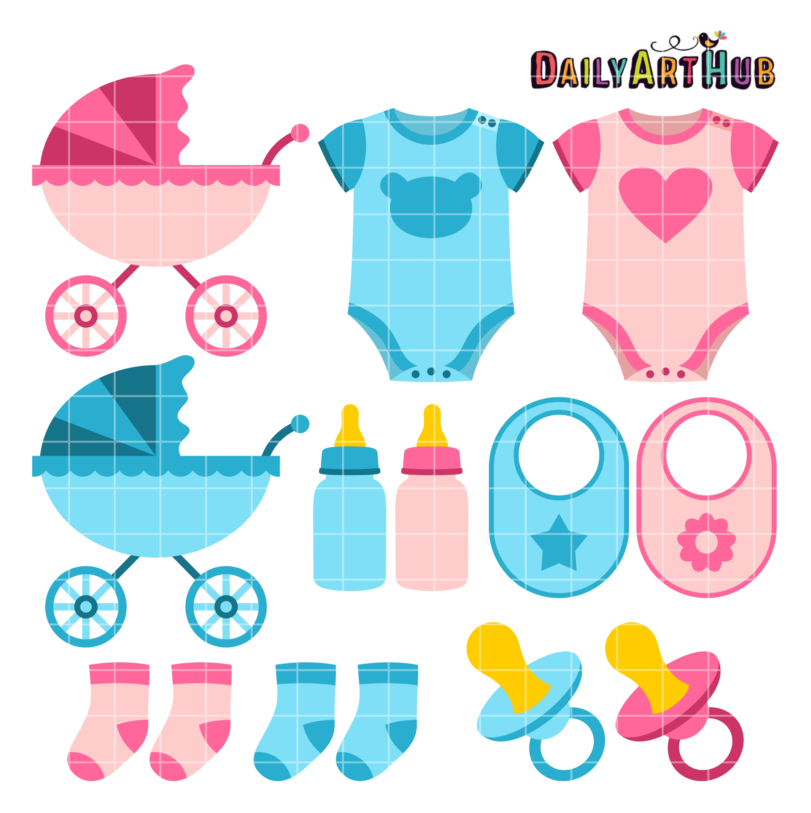 Clipart Baby Things.