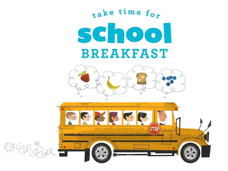 Clipart Of Back To School Breakfast.