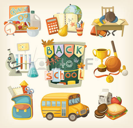 School Breakfast Stock Vector Illustration And Royalty Free School.