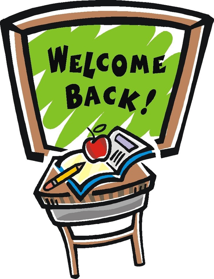 Welcome Back Clipart Images.
