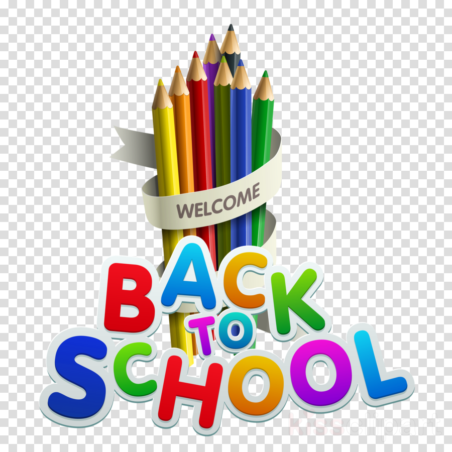 Back To School School Supplies clipart.