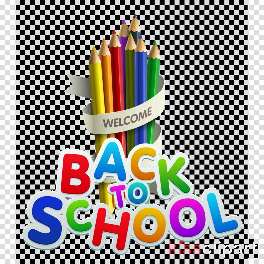 Back To School School Supplies clipart.