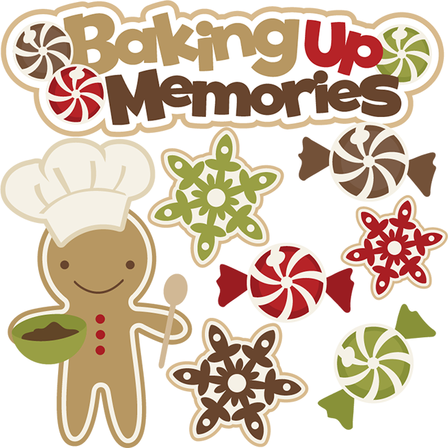 Gingerbread clipart baking, Gingerbread baking Transparent.