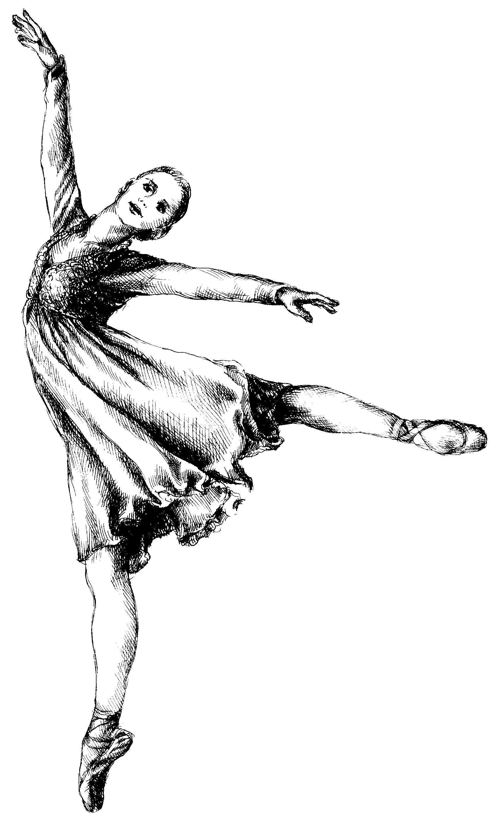 Ballet Dancing Clip Art.